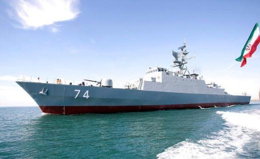 110艘军舰交付伊朗海军,无视100米红线禁令,给全世界上了一堂课