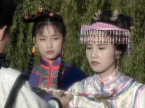 赵雅芝和叶童帝女花,周世显告别格格,离开王府寻找长平公主
