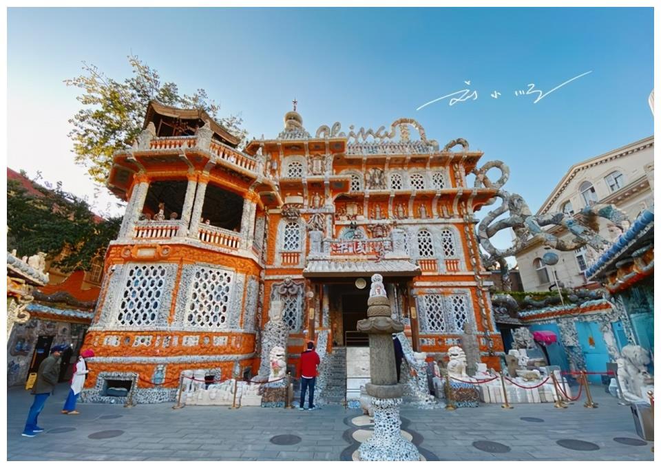 """天津""""最多此一举""""的建筑,原是百年老别墅,如今却贴满瓷器碎片"""