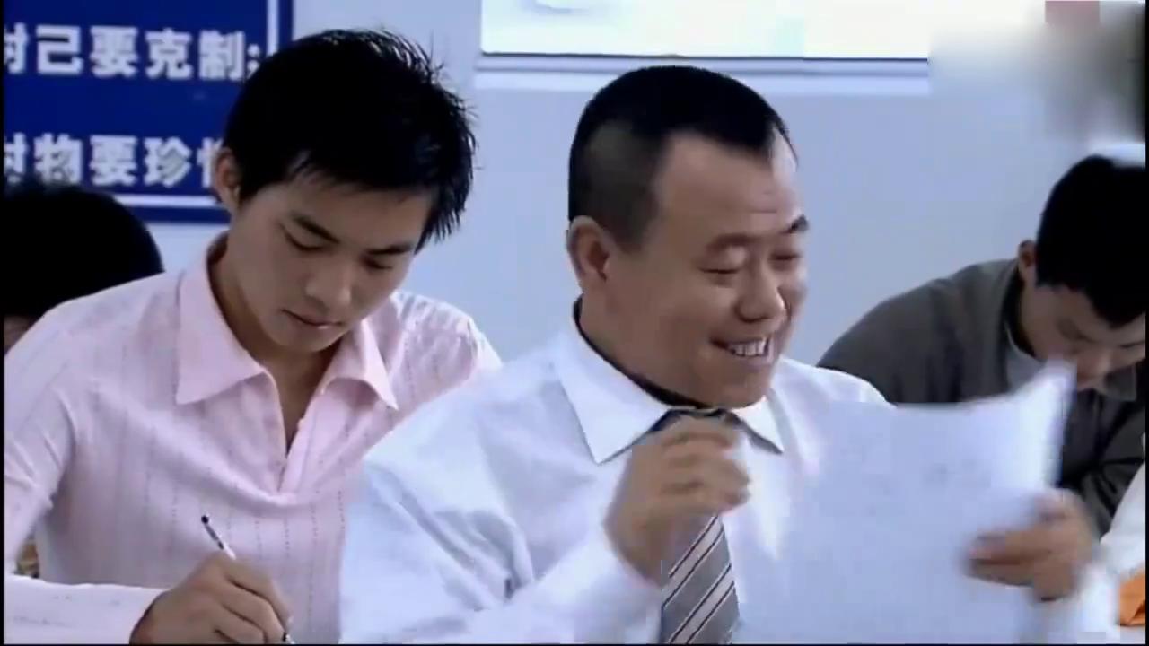 青春时期的校园生活,考试作弊只服潘长江,网友:这招绝了