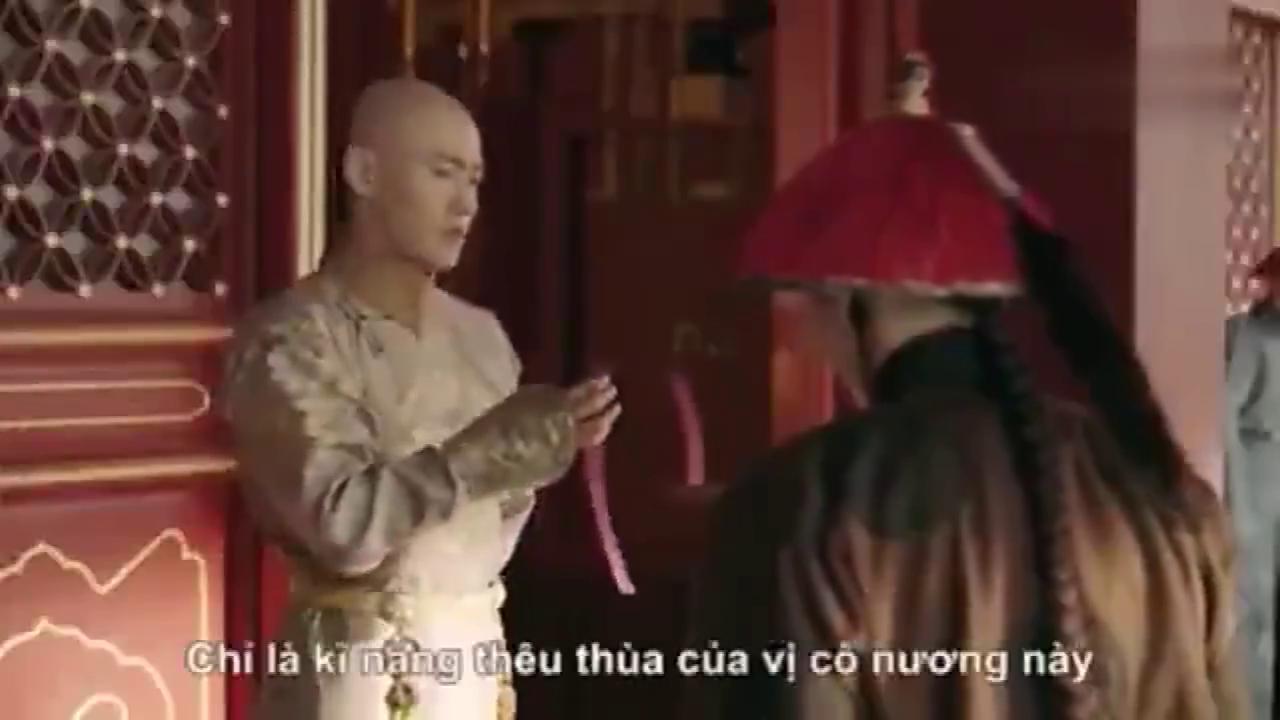 越南版皇上嫉妒海兰察,笑话明玉针线活寒碜,心里其实想璎珞送吧