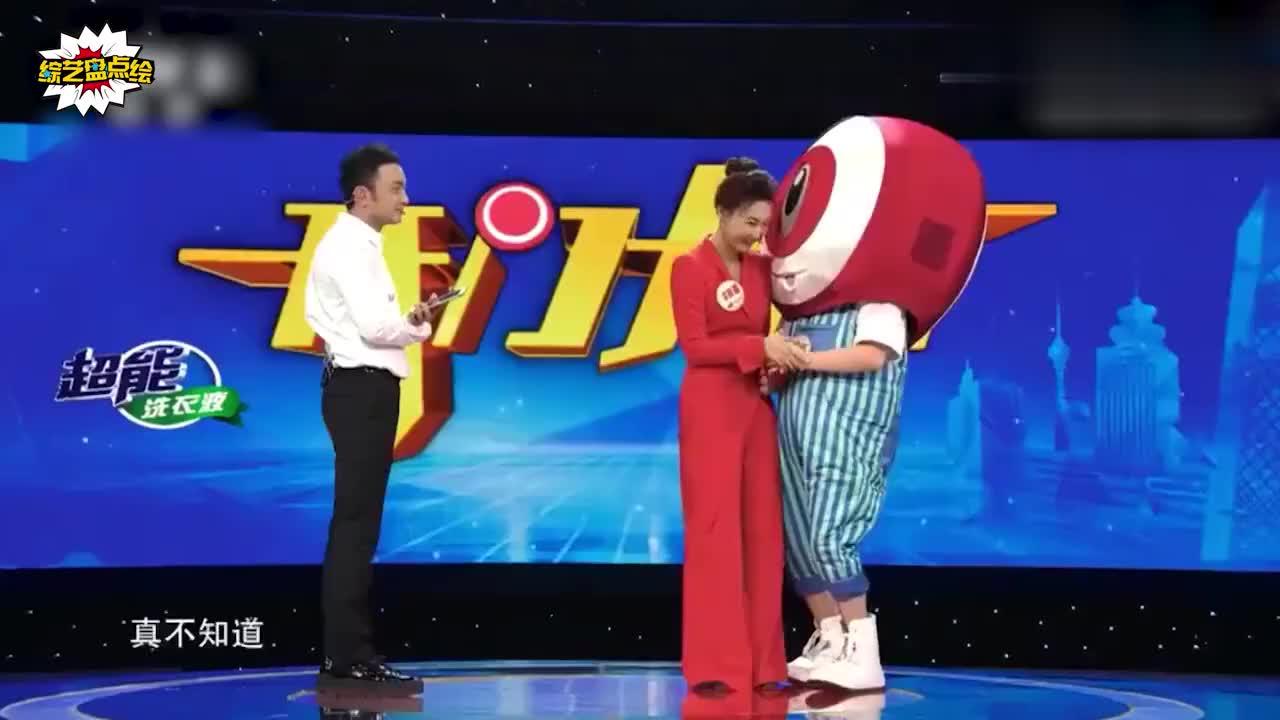 新闻联播之外的李梓萌综艺场面,摘掉假发之后,你还能认出她吗?