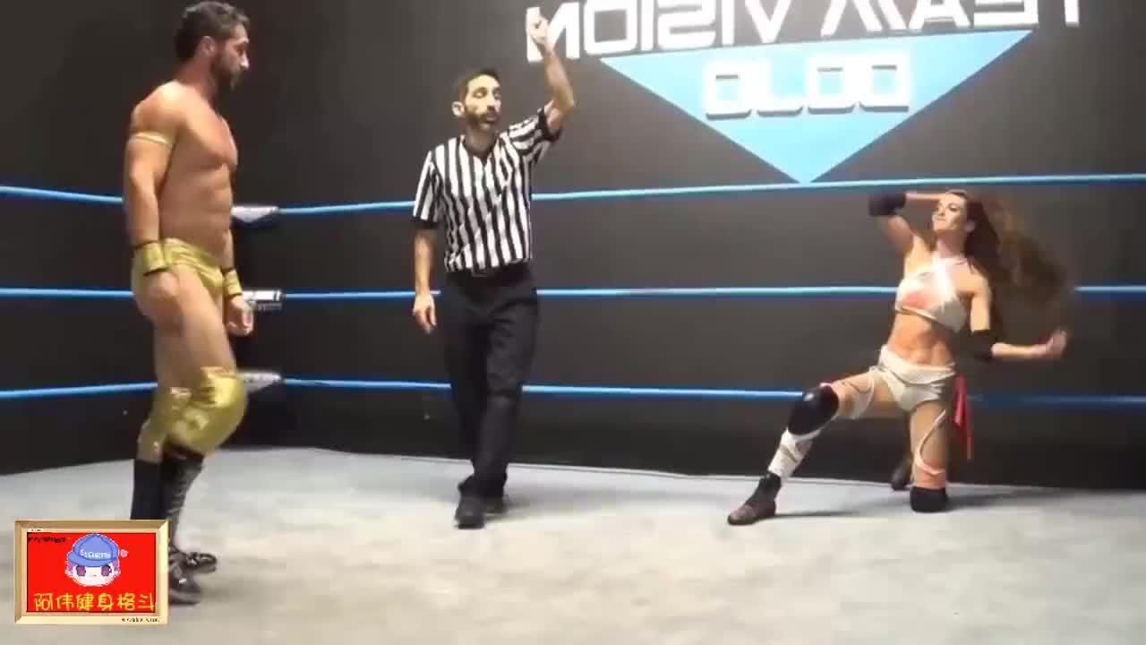 摔角:查森·兰斯vs琥珀诺瓦