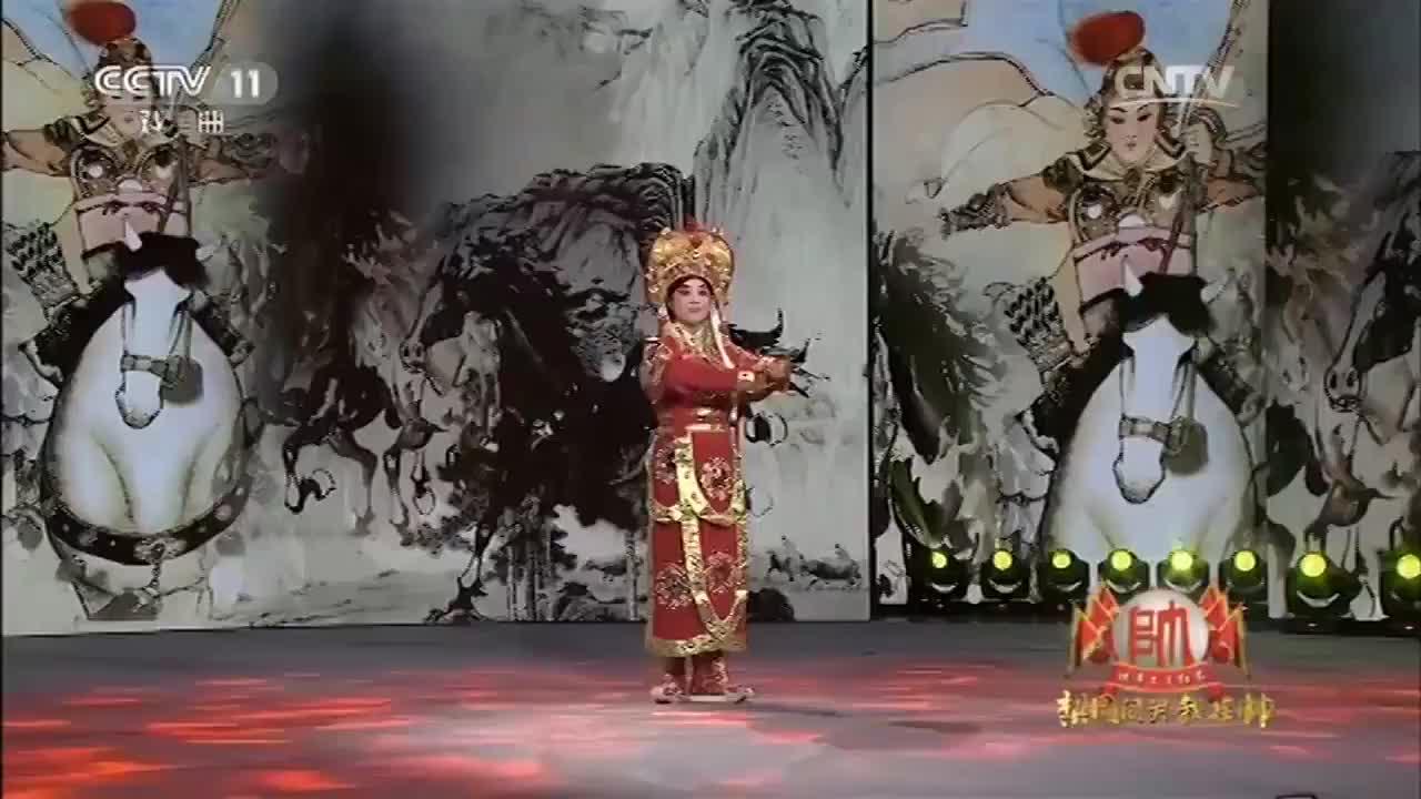 黑妹实力演绎豫剧《花木兰》选段,韵味十足,真精彩!