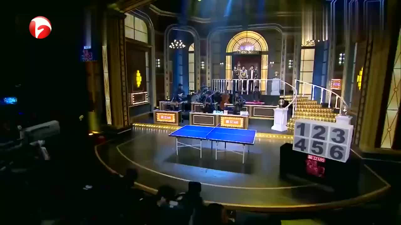百乐门:欧弟开什么玩笑,跟张继科比乒乓球,金星一旁放狠话!