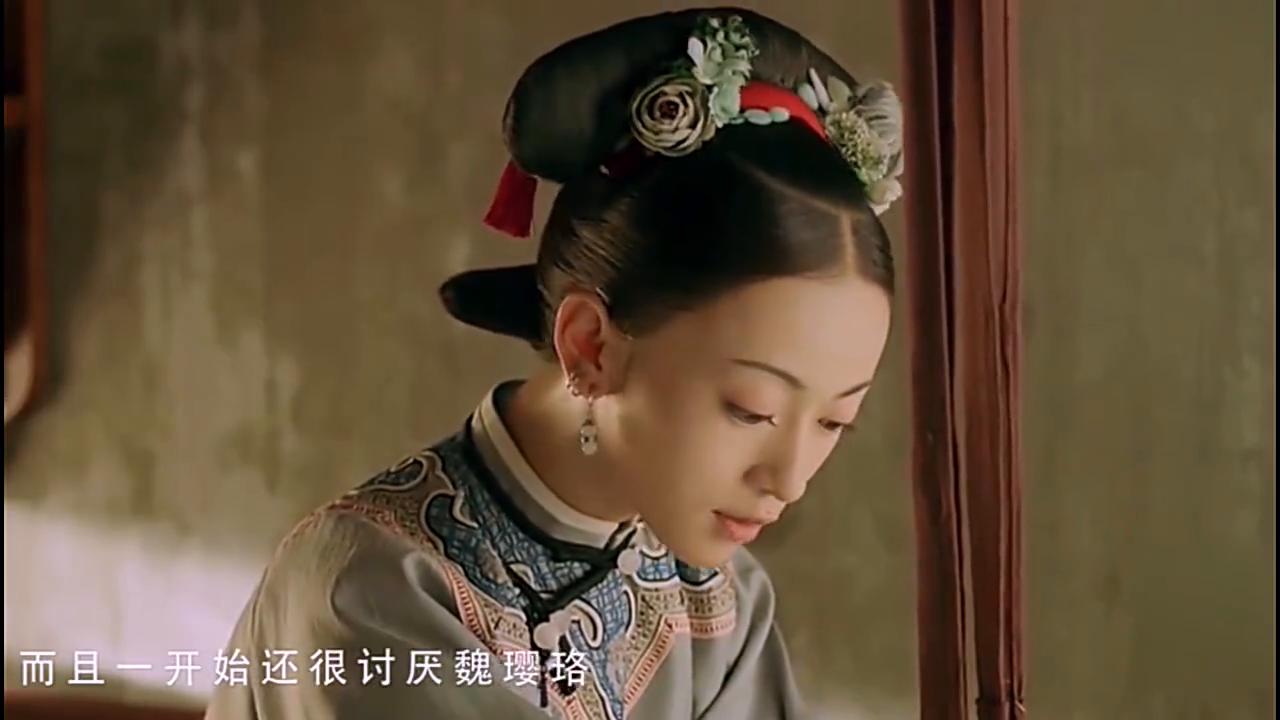 剧中:明玉自尽后,璎珞又从新找了贴身侍女