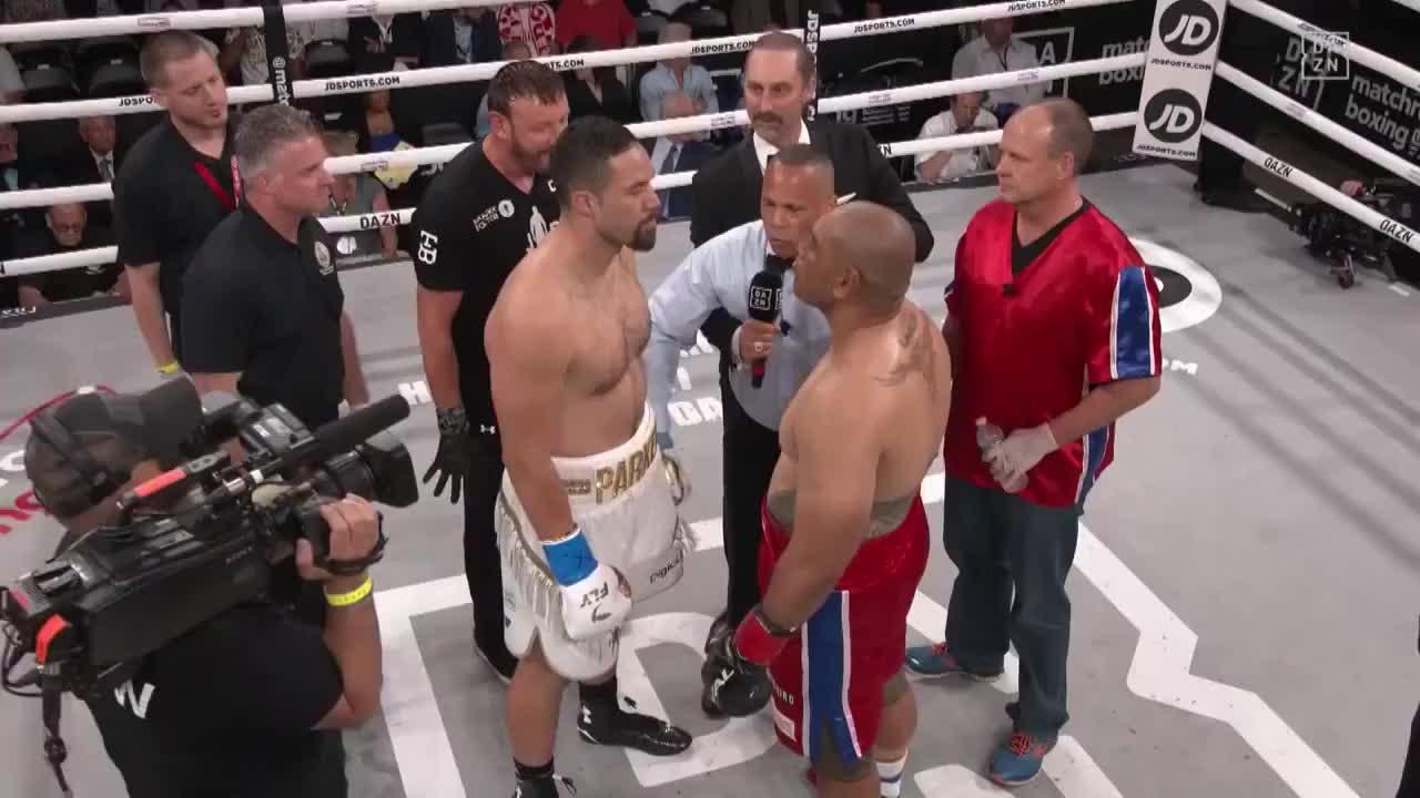 这是两位萨摩亚猛男的较量!最终前拳王帕克组合拳终结对手