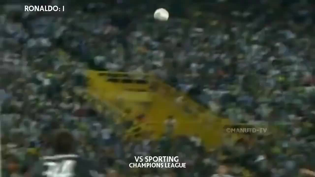 豪华锋线!07-08赛季曼联三叉戟C罗+特维斯+鲁尼