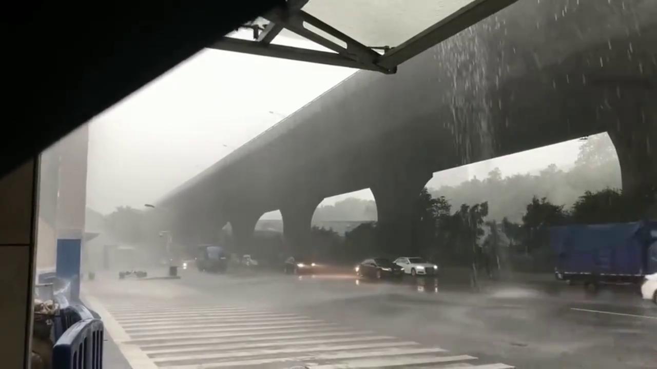 永远不要忘记滂沱大雨没有伞的日子