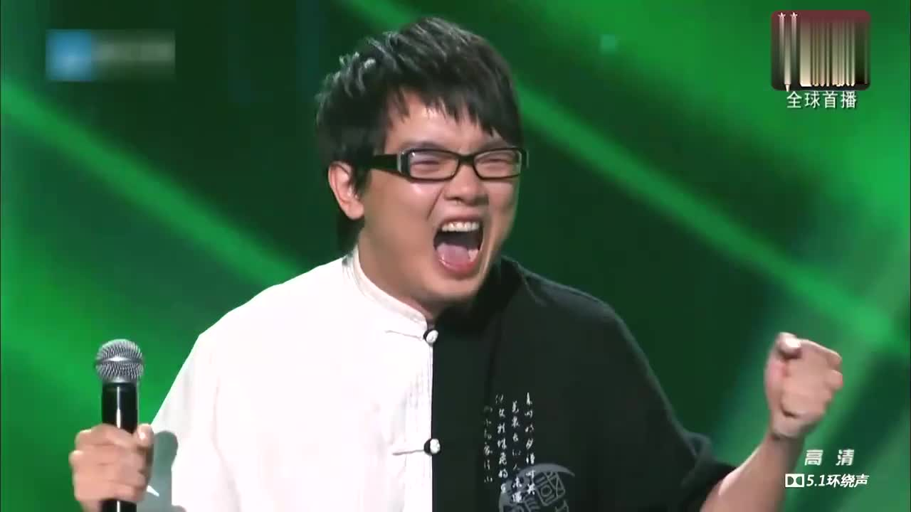 中国新歌声,四川话唱周杰伦的《双截棍》据说更好听哦