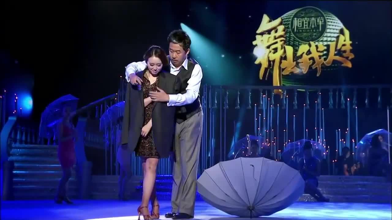 刘桦与高雪舞蹈用音乐弥补不足,突出演绎主题,赢得评委肯定