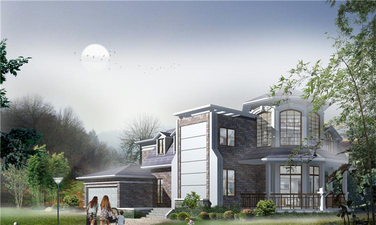 一景豪庭轻钢别墅致力于新型节能环保住宅的建