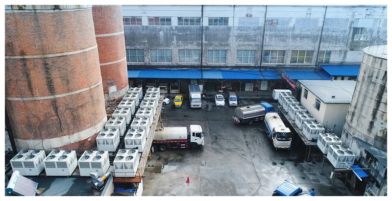 丹东某水产公司改用纽恩泰空气能热泵,冷热水双供获用户好评