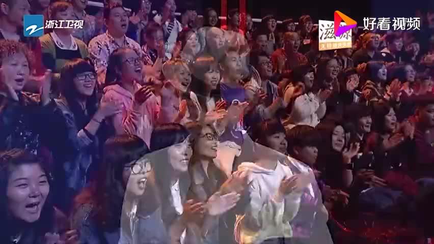 吴建豪现场跳舞为洪天祥拉票帅气身姿引众人尖叫简直太帅啦