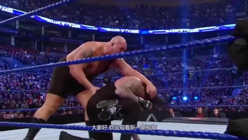 WWE敢抢送葬者的风头?摔角狂热一挑二,看看塞纳和大秀哥下场