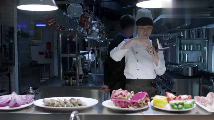 学徒太崇拜名厨,不知道怎么表达感情,都想给他磕个头!