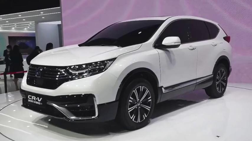 视频:2020北京车展:本田CR-VPHEV正式发布