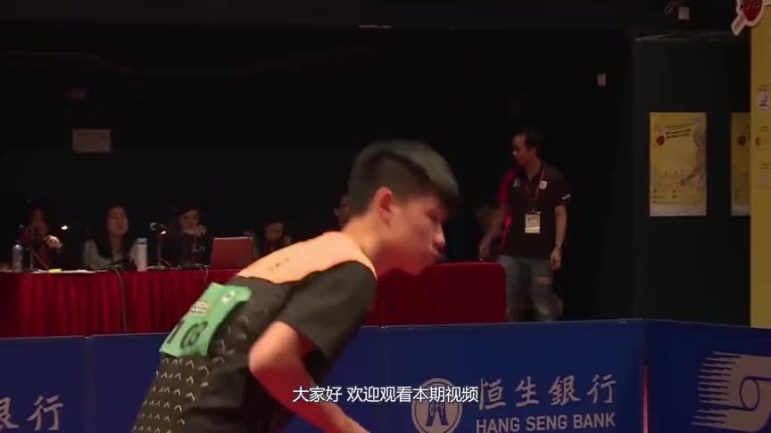 面对国际乒联颁错奖杯,张继科竟然不知,看刘国梁是怎么应对的