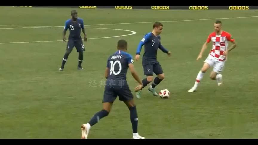 进球盛宴!经典回顾世界杯决赛法国4-2胜克罗地亚夺冠!