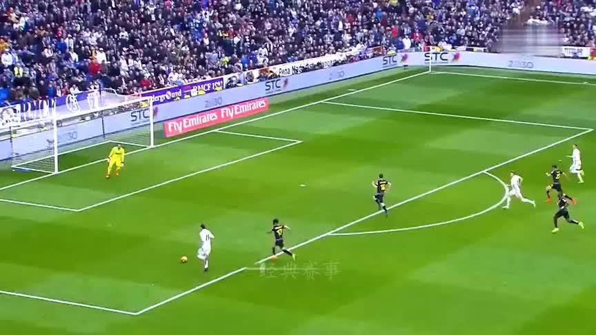 皇马田径队!感受皇家马德里传奇般的短跑速度!