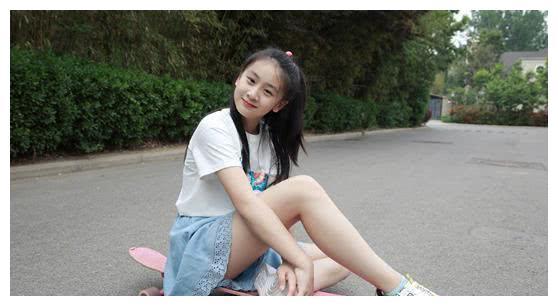 田亮女儿太完美!12岁森碟身高近1米7,五官像极父母年轻的结合体