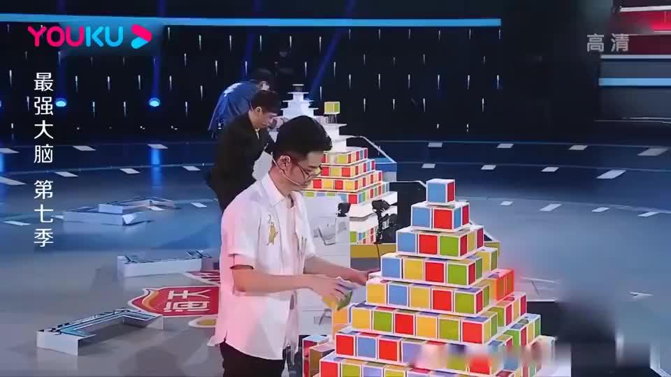 最强大脑:全场都发现的失误,王宇轩却错过好几遍,领队都急了!