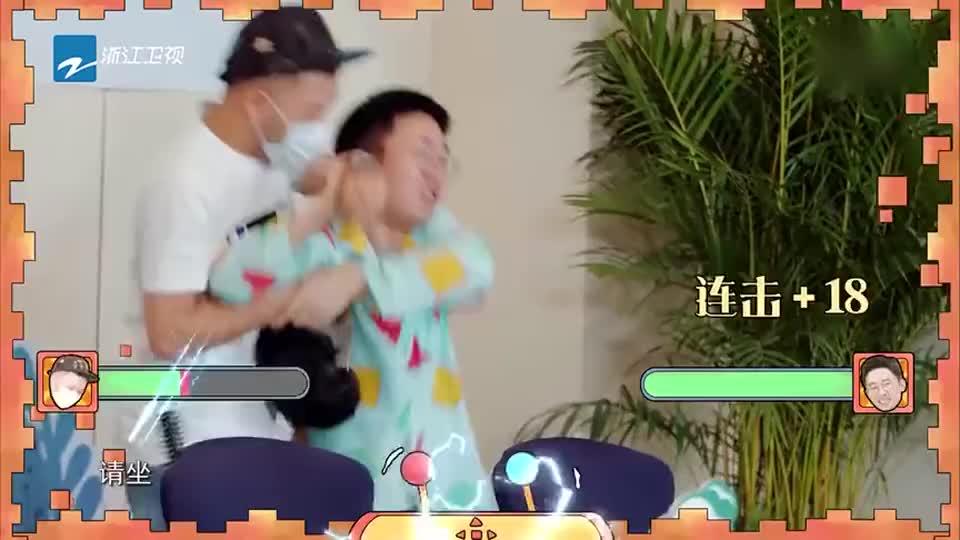 杨迪被强戴假发表情垮掉,郎朗看到他的样子差点笑喷?