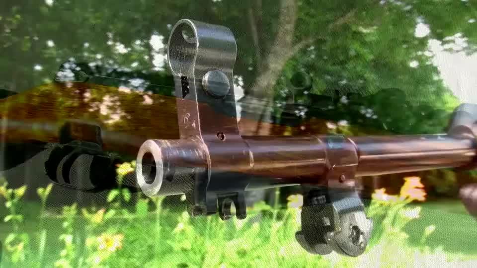 实测1951年的俄罗斯SKS半自动步枪,几十年的沉淀还跟新的一样
