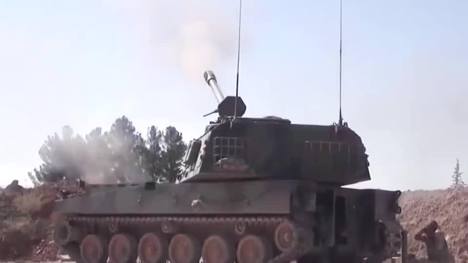 叙利亚战场实录:阿萨德发起猛烈攻击,土耳其联军损失惨重!