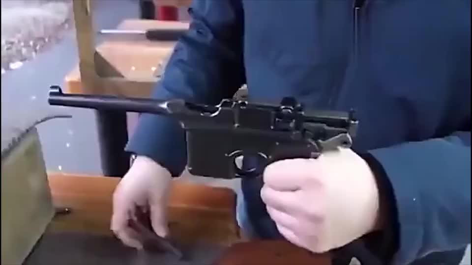 手枪与枪托的最完美组合,盒子炮驳壳枪!