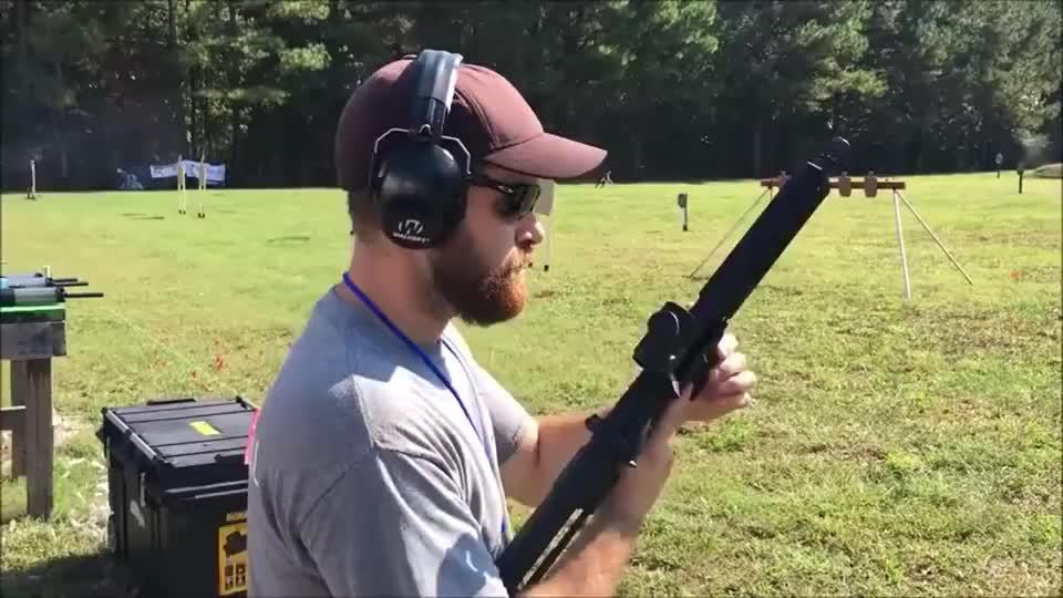 步枪、霰弹枪、手枪靶场实弹射击测试,看外观你能认出枪名吗