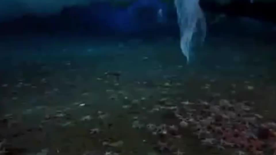 海洋里的死亡冰柱,从海面直入海底,所到之处无一生还!