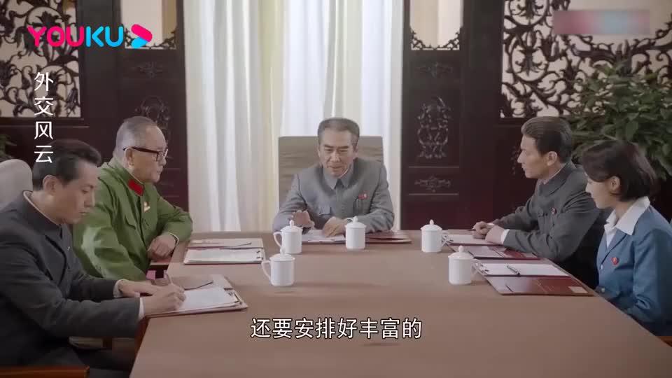 外交风云:总理担心美国乒乓球队一直输,会上提议:让一让他们!