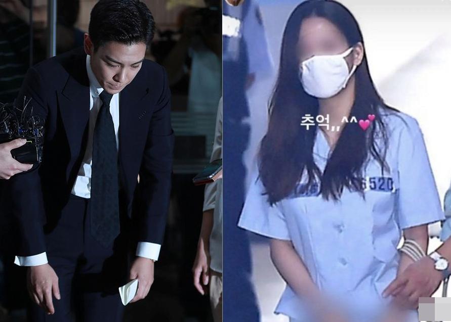又一名韩女星吸毒被抓,TOP前女友缓刑期间复吸,面临三年实刑