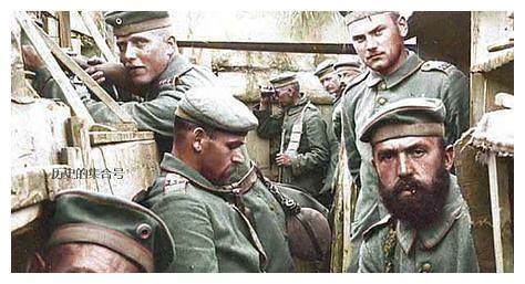一战德军老照片:德军很帅,贵族范十足,难得一见