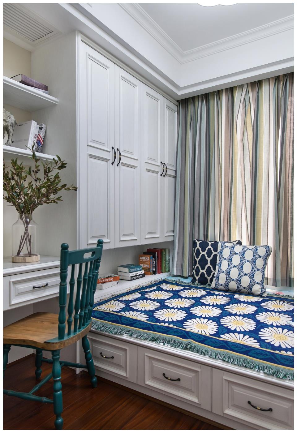 家居装修中榻榻米的呈现方式,儿童房、书房,甚至于一个飘窗!