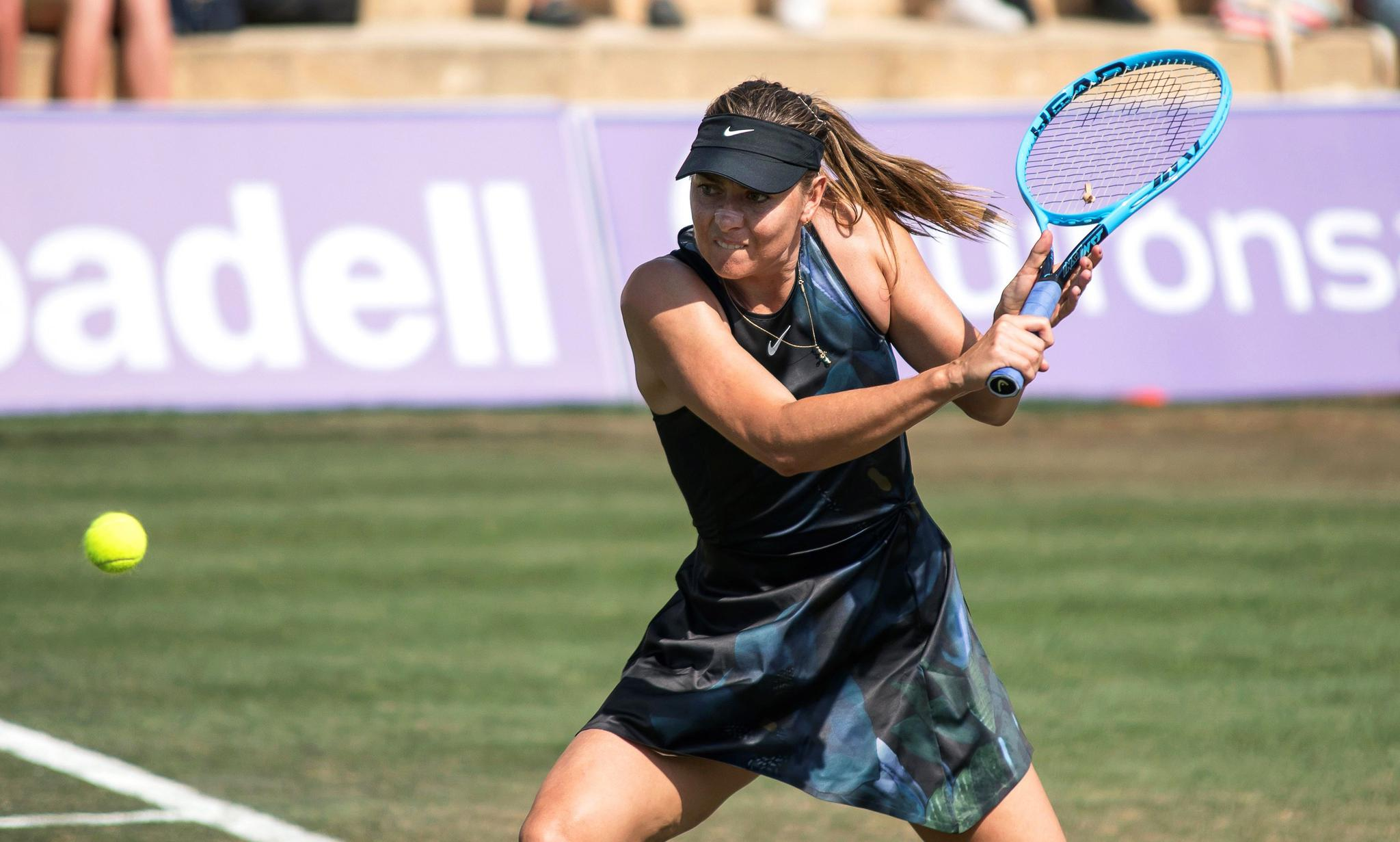 网球——马略卡公开赛:科贝尔胜莎拉波娃