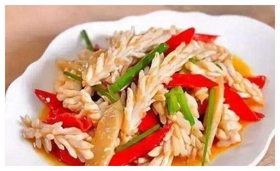 美食推荐:凉拌土豆丝、麻酱马齿苋、八爪鱼炒辣椒、酸辣鱿鱼花