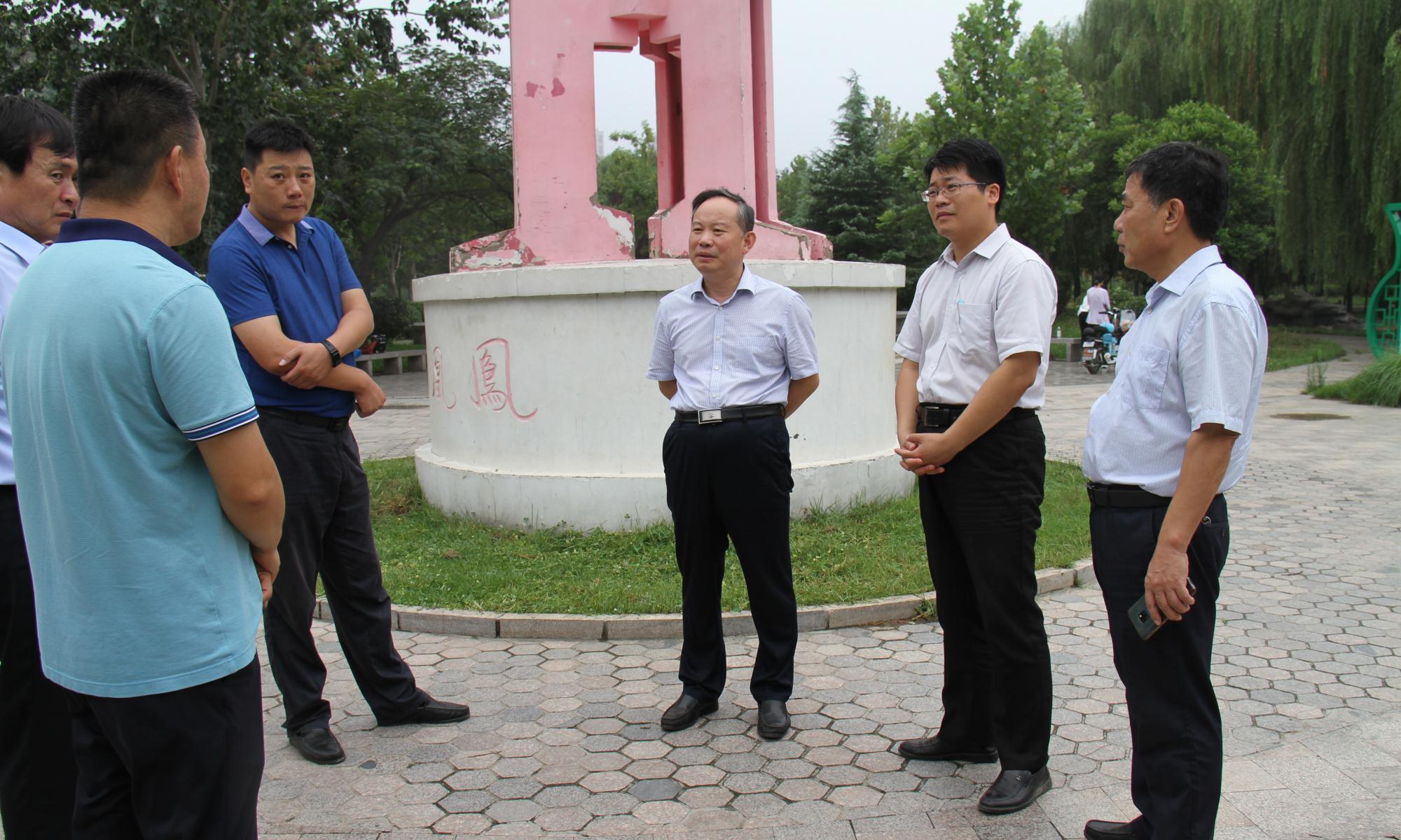 聊城高新区:刘培国现场督导全国文明城市创建工作