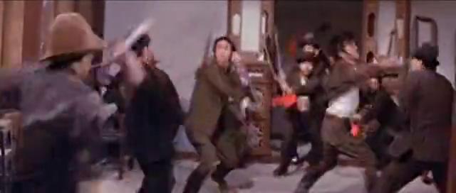 这部动作片, 全程干净利落, 姜大卫和狄龙主演