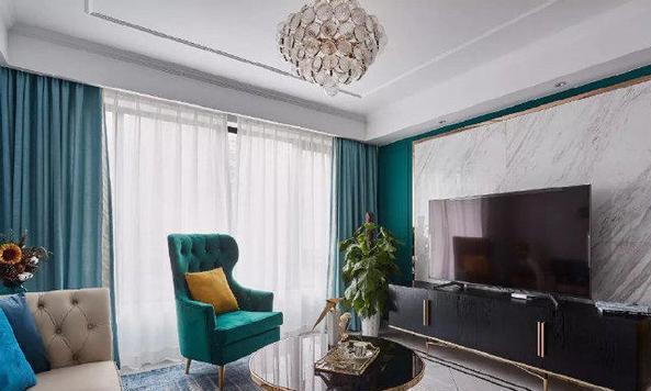美式风的新房装修超漂亮,整体配色轻奢又舒适,所有户型都可借鉴