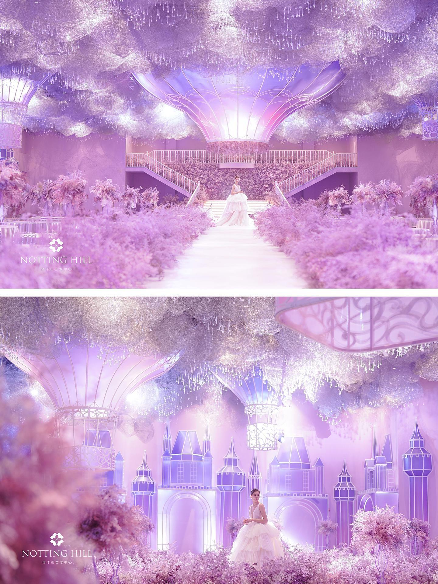 城堡、花海、热气球......童话般的婚礼场景你都能拥有!