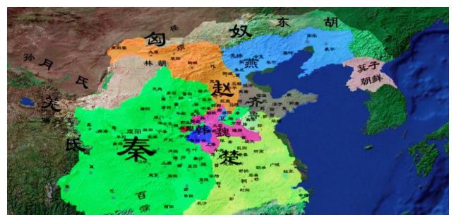 战国时期,魏国赵国楚国齐国先后称霸?为何韩国屡受大国欺负?
