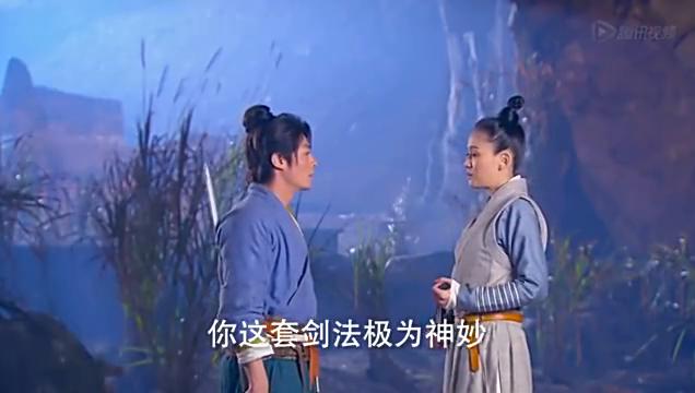 陈乔恩版本东方不败,和令狐冲练武喜欢上令狐冲