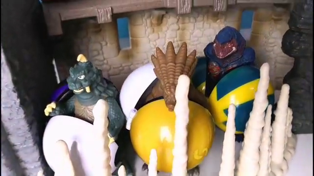 怪兽迪玛迦五帝兽兴高采烈的投奔贝利亚 结果黑暗路基艾尔赶来了