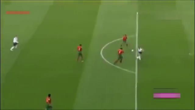还记得04年欧洲杯吗19岁C罗第一次遇上贝克汉姆!葡萄牙赢了!
