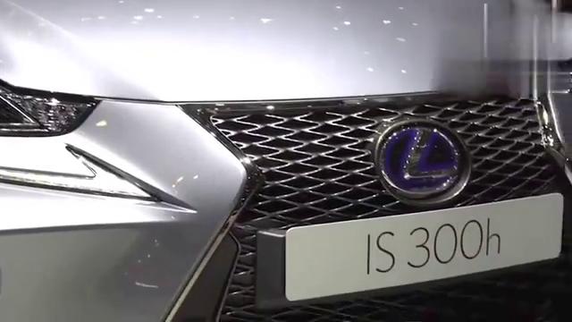 视频:雷克萨斯IS300h亮相车展,有这颜值