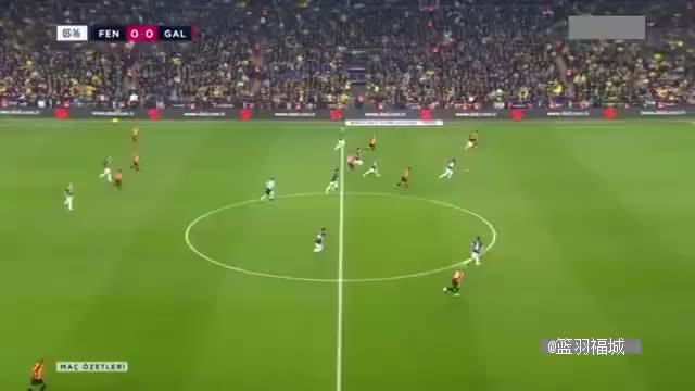 火爆!土耳其国家德比造12黄3红 加拉塔萨雷客场3-1逆转费内巴切