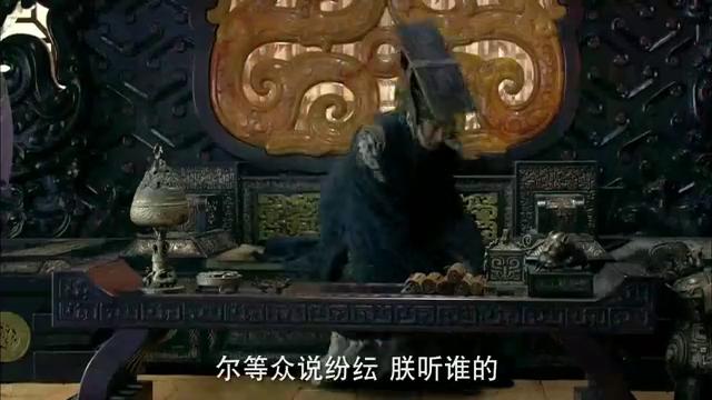 胡亥看到大臣们这么说龙威大怒,叔孙通的机会来了
