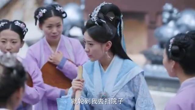 影视:《双世宠妃》经典镜头,曲小檀:我的嘴有点累了
